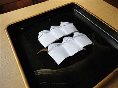 お盆(盂蘭盆)と盆粉・挽茶